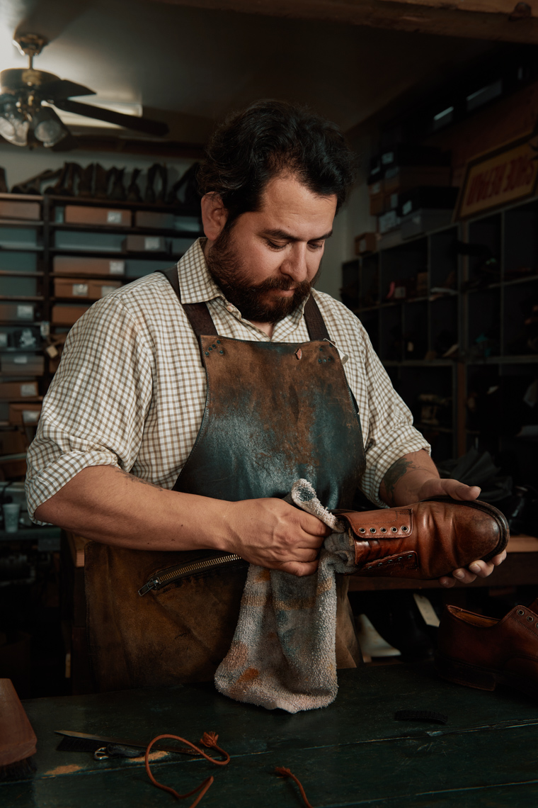 2_KJP2239-RT-JW-RT-JWKremer Johnson - Advertising and Editorial Photographer - Small Business - Cobbler