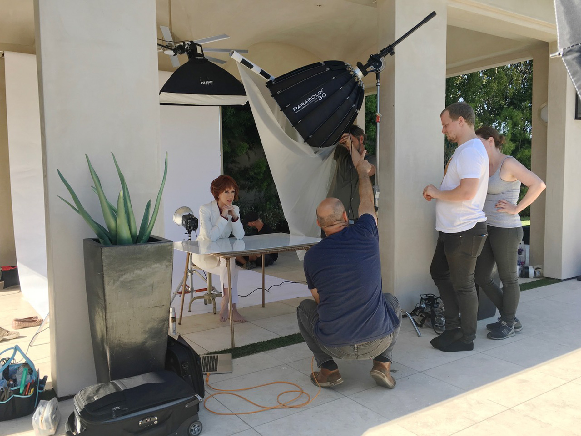 Kremer Johnson - Advertising Photographer Los Angeles - Behind The Scenes