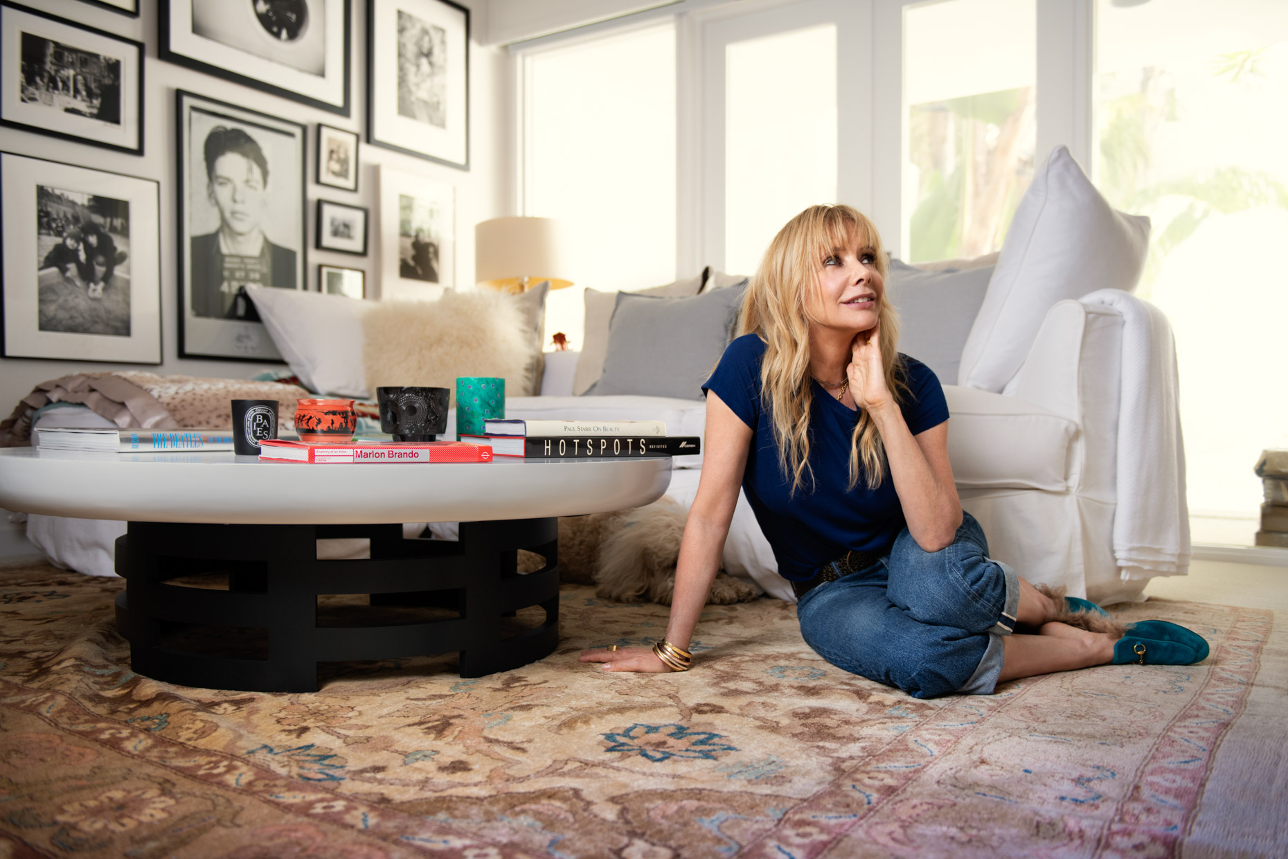 Kremer Johnson - Celebrity Editorial Portrait - Rosanna Arquette