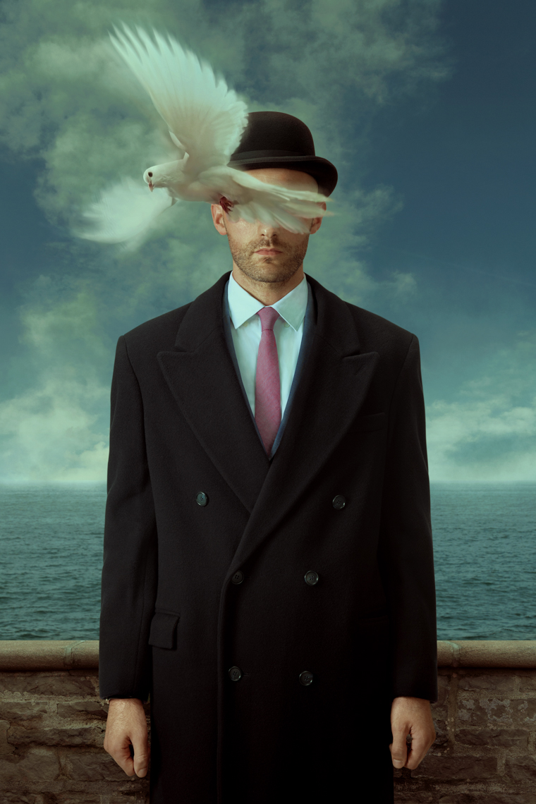Kremer Johnson - This is Not Magritte - Who can see the son of man