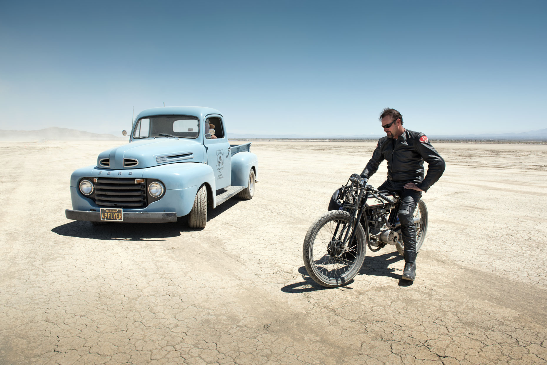 El Mirage Land Speed Racer - Kremer Johnson:  Los Angeles Portrait Photographer