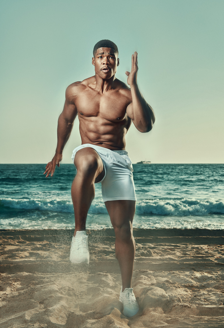 Kremer Johnson:  Fitness Photographer Los Angeles.  Sports and Fitness Advertising