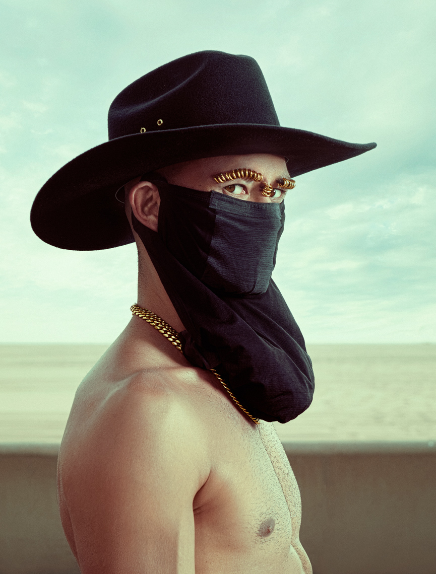 Kremer Johnson - Los Angeles Photographer - Coronavirus COVID-19 Masked Portraits
