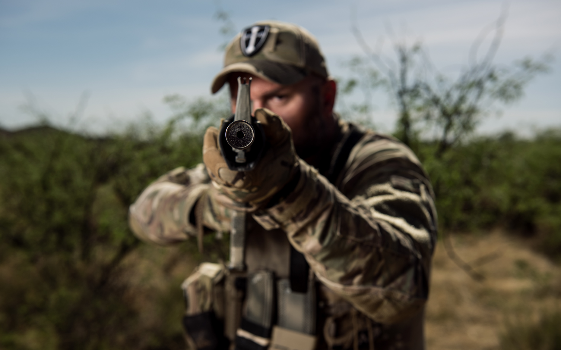 Kremer Johnson - Editorial Portrait Photographer - Arizona Border Recon