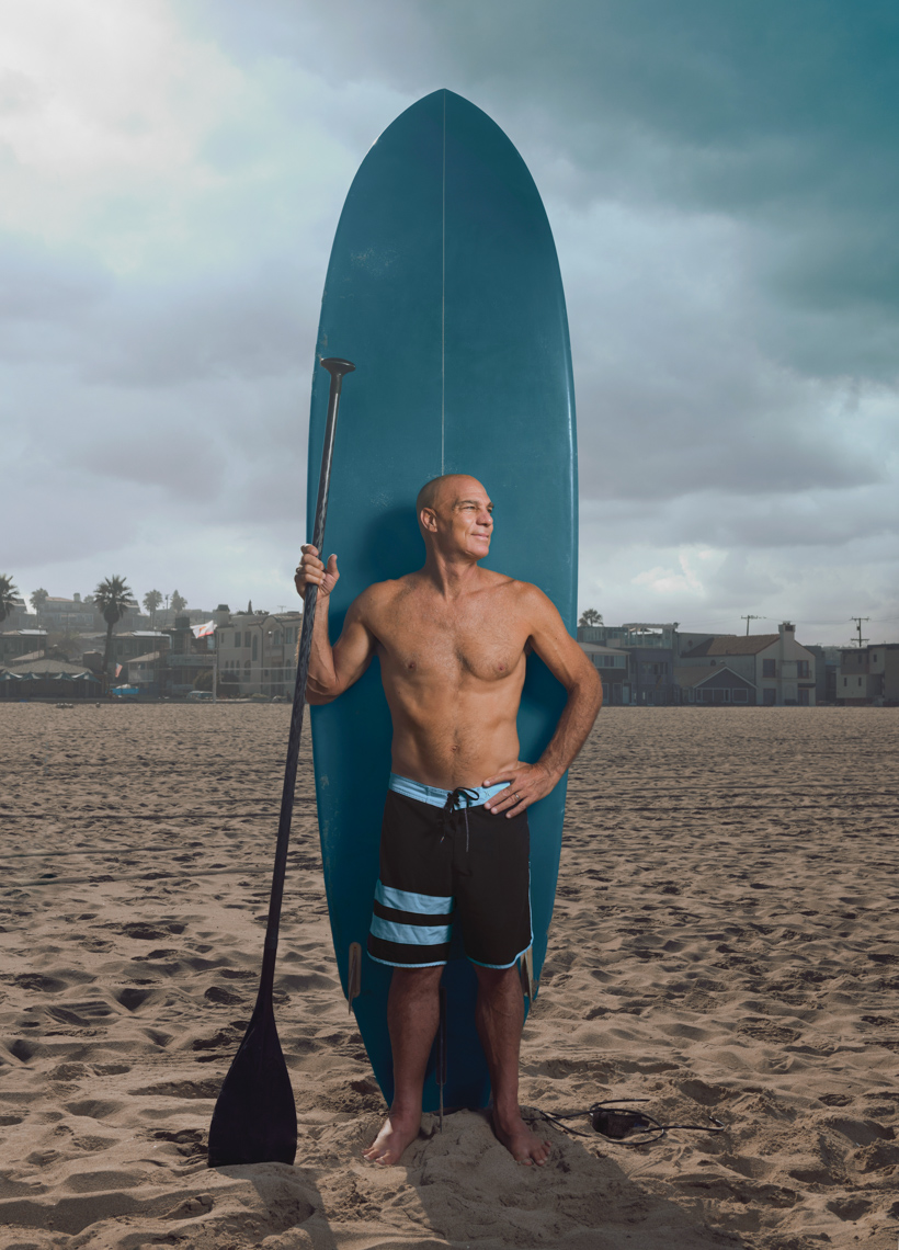 Kremer Johnson - Los Angeles Photographer - Fit After 50 - Paddleboarder